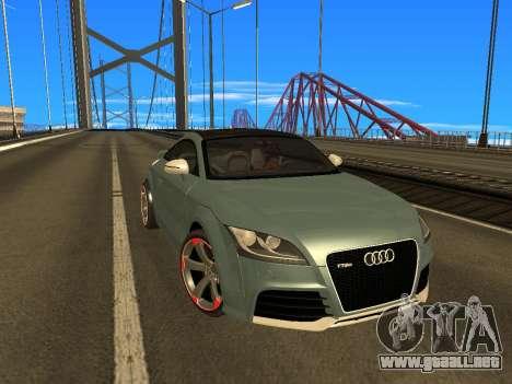 Audi TT RS Plus 2013 para GTA San Andreas