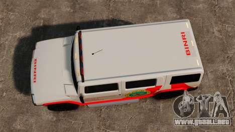 Colorear nuevo Noose Patriot para GTA 4 visión correcta