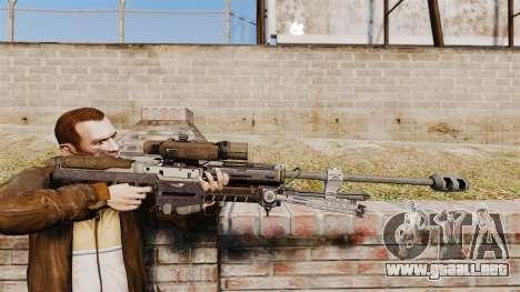 Rifle de francotirador Halo Reach SRS 99 para GTA 4