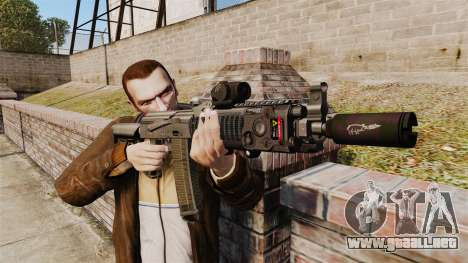MM118 automático AK para GTA 4 tercera pantalla