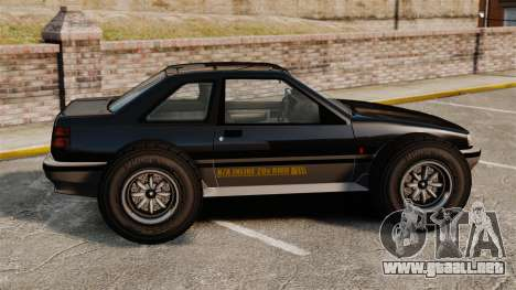 Futo-buggy para GTA 4 left