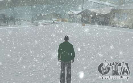 Snow San Andreas 2011 HQ - SA:MP 1.1 para GTA San Andreas undécima de pantalla