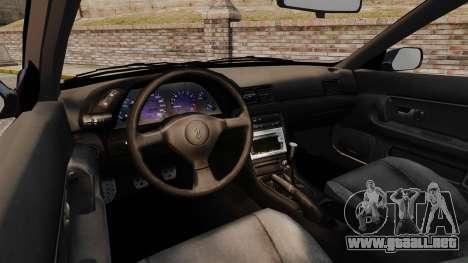 Nissan Skyline R32 GTS-t para GTA 4 vista hacia atrás