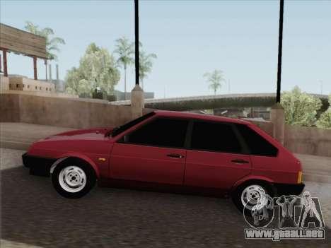 VAZ 21093i para vista inferior GTA San Andreas