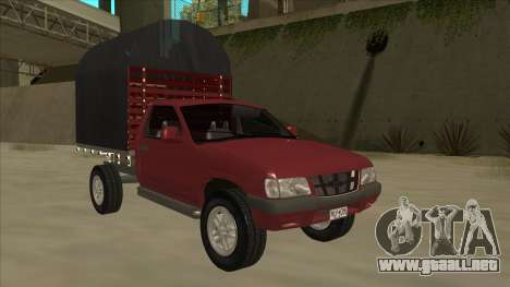 Chevrolet Luv 2.500 diesel para GTA San Andreas left