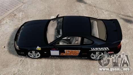 Nissan Silvia S15 v4 para GTA 4 visión correcta
