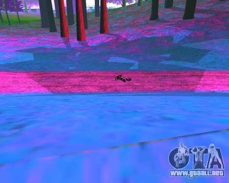 NarcomaniX Colormode para GTA San Andreas quinta pantalla