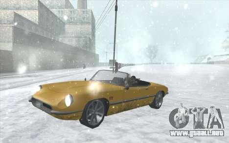 Snow San Andreas 2011 HQ - SA:MP 1.1 para GTA San Andreas octavo de pantalla