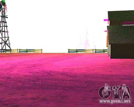 NarcomaniX Colormode para GTA San Andreas segunda pantalla