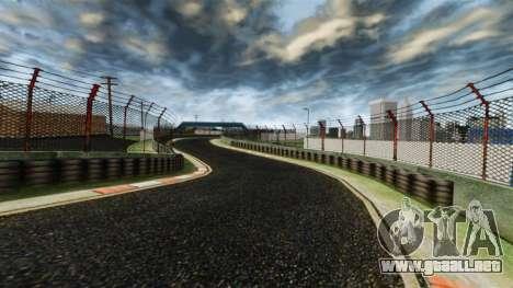 Pista de Nitro ultra para GTA 4 quinta pantalla