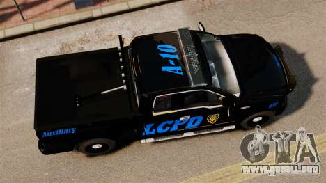 Ford F-150 v3.3 LCPD Auxiliary [ELS & EPM] v2 para GTA 4 visión correcta