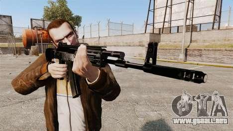 Kalashnikov AK-12 para GTA 4 tercera pantalla