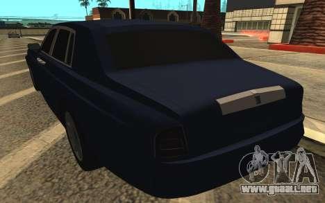 Rolls-Royce Phantom para vista inferior GTA San Andreas
