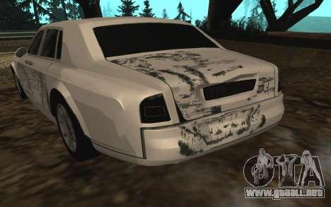 Rolls-Royce Phantom v2.0 para vista inferior GTA San Andreas