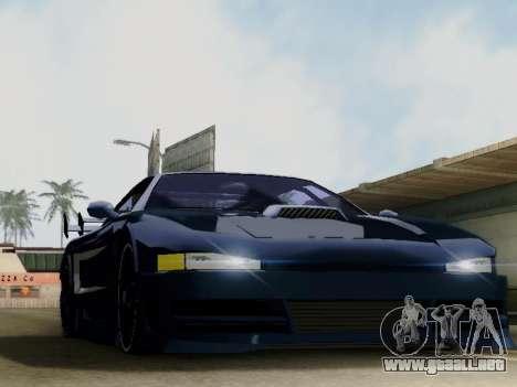 Infernus DoTeX para GTA San Andreas left