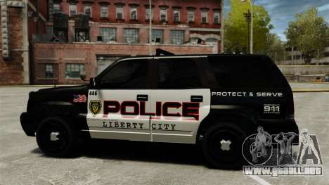 Cabalgata de patrulla para GTA 4 left