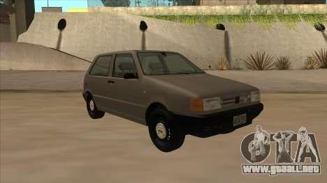 Fiat Uno 1995 para GTA San Andreas left