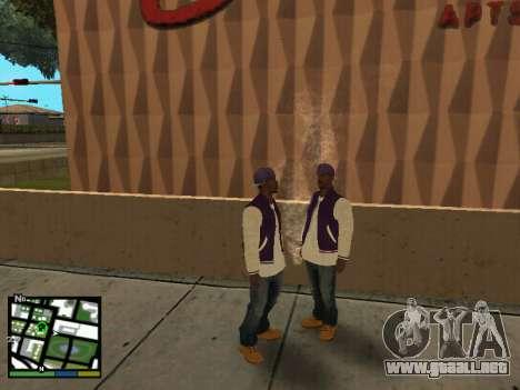 Ballas para GTA San Andreas segunda pantalla