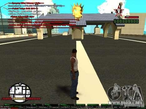 Sobeit 4.2.2.1 (2011) [RUS] para GTA San Andreas segunda pantalla