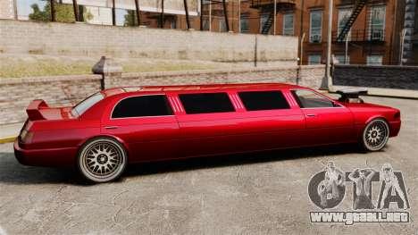 Carreras callejeras de limusina para GTA 4 left