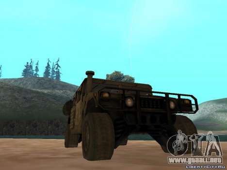 Hamvee M-1025 de Battlefiled 2 para GTA San Andreas