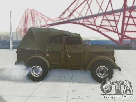 UAZ-69A para la vista superior GTA San Andreas