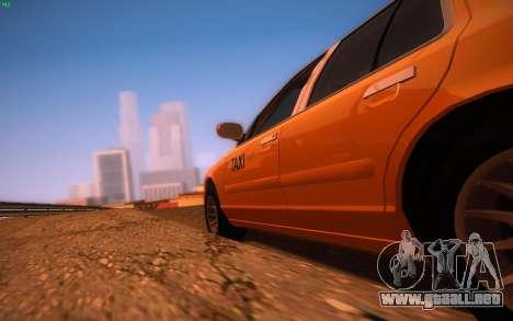 ENBS V3 para GTA San Andreas tercera pantalla