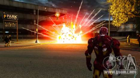 Hierro hombre IV v 2.0 para GTA 4 sexto de pantalla