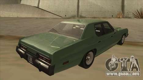 Dodge Monaco V10 para la visión correcta GTA San Andreas
