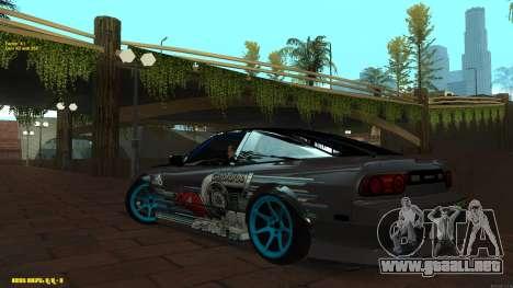 Nissan Silvia RPS13 CIAY para GTA San Andreas left