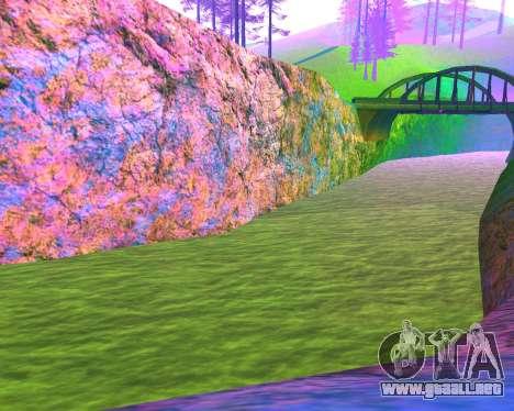 NarcomaniX Colormode para GTA San Andreas sucesivamente de pantalla