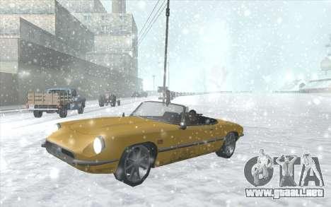 Snow San Andreas 2011 HQ - SA:MP 1.1 para GTA San Andreas novena de pantalla