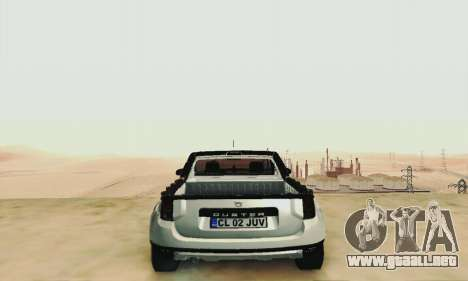 Dacia Duster Pick-up para visión interna GTA San Andreas