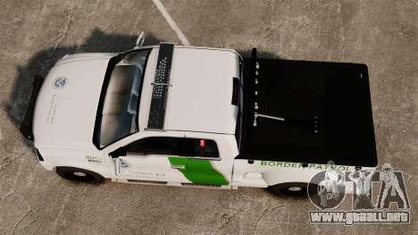 Ford F-150 v3.3 Border Patrol [ELS & EPM] v2 para GTA 4 visión correcta