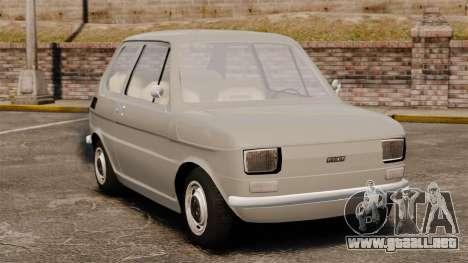 Fiat 126 v1.1 para GTA 4