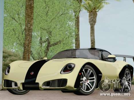 Devon GTX 2010 para las ruedas de GTA San Andreas
