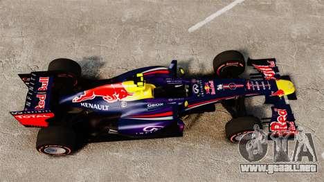 RB9 v6 auto, Red Bull para GTA 4 visión correcta