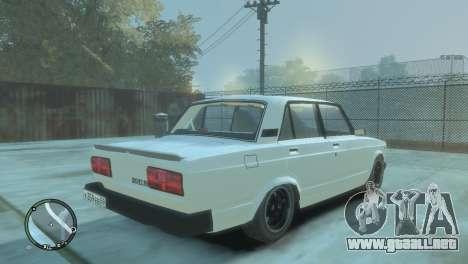 VAZ 2105 para GTA 4 left