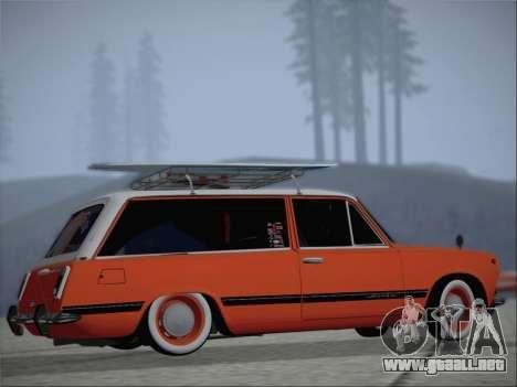 VAZ 2102 para visión interna GTA San Andreas