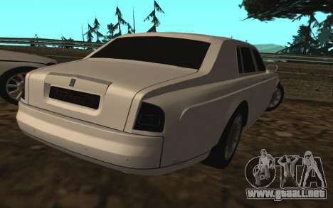Rolls-Royce Phantom v2.0 para GTA San Andreas left