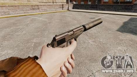 Walther PPK pistola autocargable v1 para GTA 4 segundos de pantalla