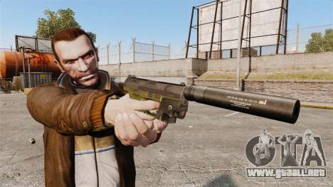Walther P99 pistola semi-automática v3 para GTA 4 tercera pantalla