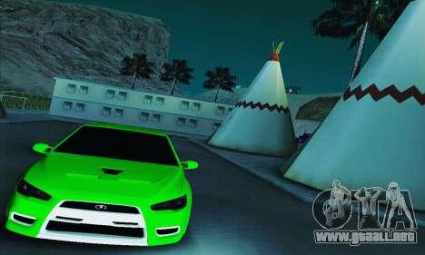 VAZ 2108 Lancer para la visión correcta GTA San Andreas