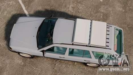 Mercedes-Benz W124 Wagon (S124) para GTA 4 visión correcta