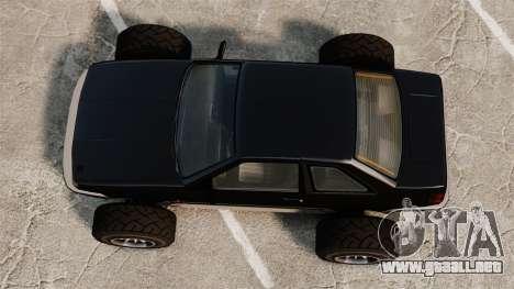 Futo-buggy para GTA 4 visión correcta