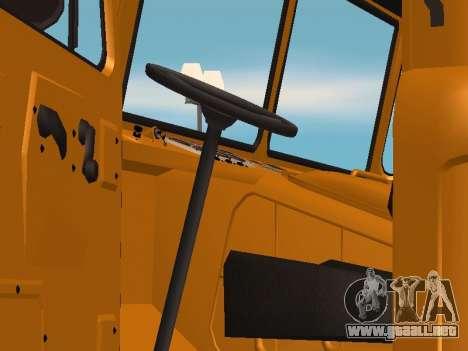 Camión de GAS-66 para la visión correcta GTA San Andreas