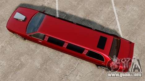 Carreras callejeras de limusina para GTA 4 visión correcta