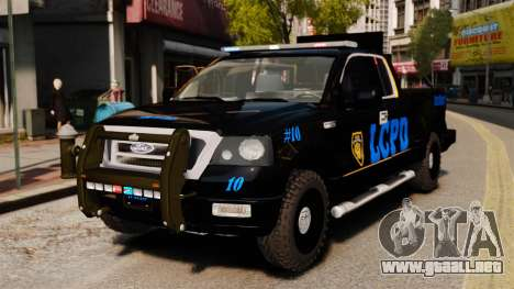 Ford F-150 v3.3 LCPD Auxiliary [ELS & EPM] v2 para GTA 4