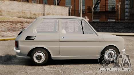 Fiat 126 v1.1 para GTA 4 left