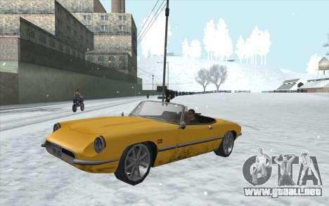 Snow San Andreas 2011 HQ - SA:MP 1.1 para GTA San Andreas séptima pantalla